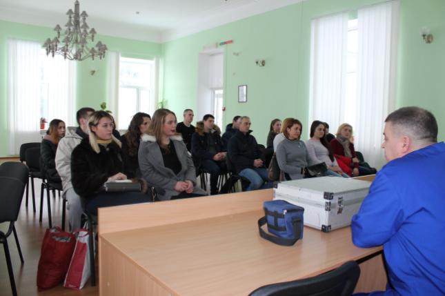 День відкритих дверей для слухачів Житомирського відділення навчально-наукового інституту заочного навчання Національної академії внутрішніх справ.
