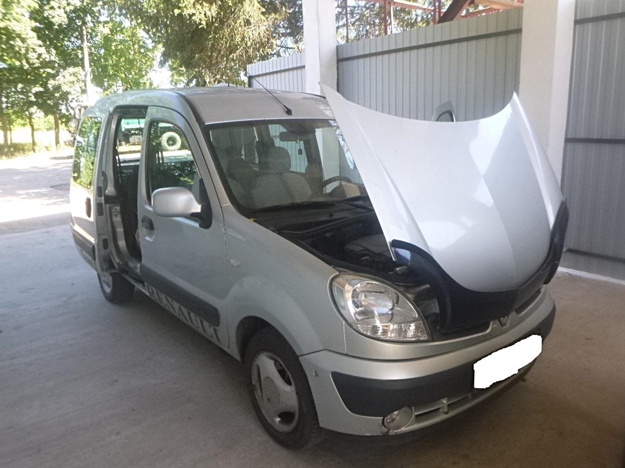 Фахівцями Житомирського НДЕКЦ МВС виявлено транспортний засіб RENAULT Kangoo із зміненим номером кузова