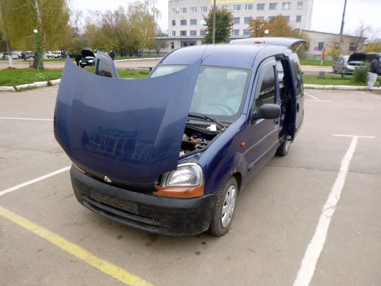 Житомирські експерти виявили ряд транспортних засобів зі зміненими номерами кузова та двигуна