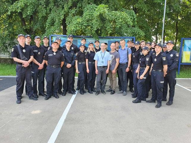 Працівниками Житомирського НДЕКЦ МВС продовжено практичні заняття зі  слухачами Державної установи «Житомирський навчальний центр підготовки поліцейських»