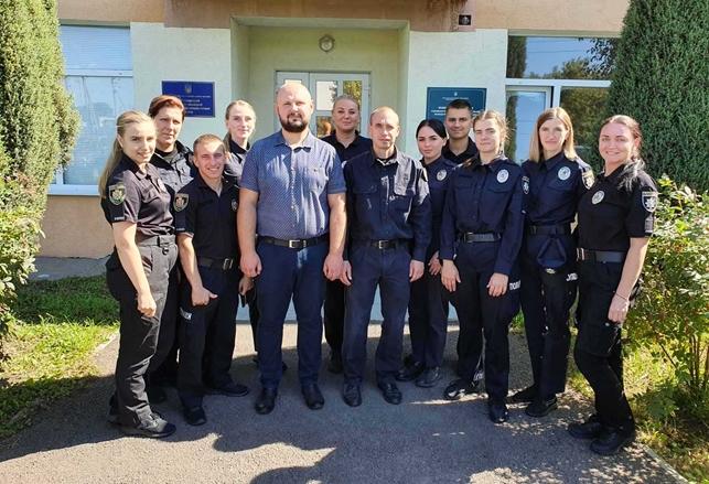 Працівники Житомирського НДЕКЦ МВС проводять курс практичних занять зі слухачами Державної установи «Житомирський навчальний центр підготовки поліцейських»